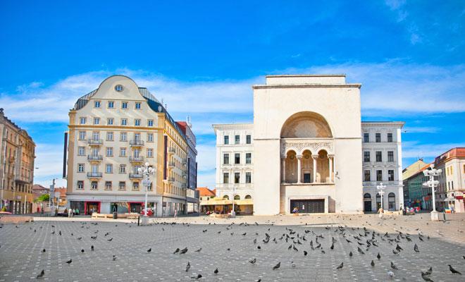 Teatrul National din orasul Timisoara judetul Timis
